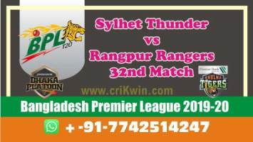 BPL 2020 Today Match Prediction RAN vs SYL 32nd 100% Sure Win