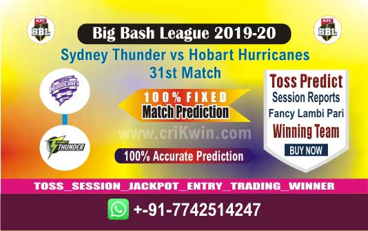 HUR vs THU cricket win tips