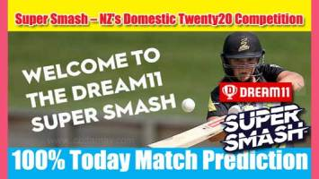 Super Smash Today Match Prediction WEL vs OTG 23rd 100% Sure Win