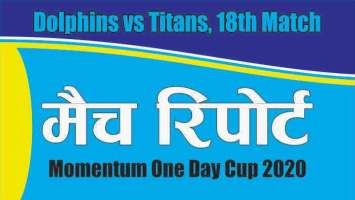 Prediction Titans vs Dophins 18th South Africa Domestic ODI 100% Sure