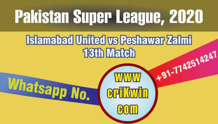 100% Sure Today Match Prediction PSZ vs ISU 13th PSL T20 Win Tips
