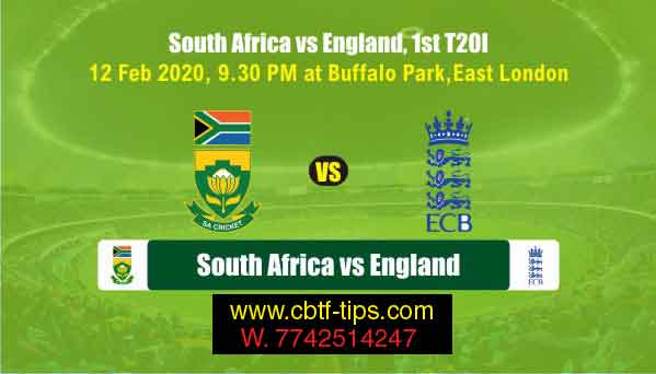 SA vs Eng 1st T20 Match Prediction today 100% Sure Win Tips Free Toss