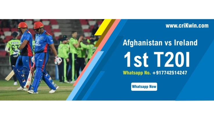 100% Sure Today Match Prediction Ire vs Afg 1st International T20 Win