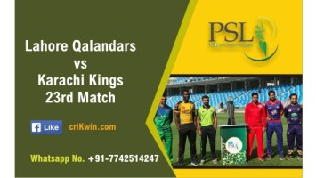 100% Sure Today Match Prediction LAH vs KAR 23rd PSL T20 Win Tips