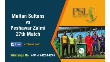 100% Sure Today Match Prediction PES vs MUL 27th PSL T20 Win Tips