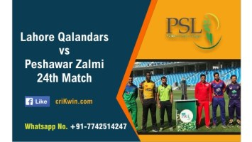 100% Sure Today Match Prediction PSZ vs LHQ 24th PSL T20 Win Tips