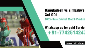 100% Sure Today Match Prediction Zim vs Ban 3rd International Win Tips