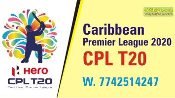 100% Sure Today Match Prediction GAW vs TKR CPL T20 Win Tips