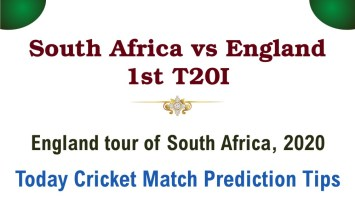 Today Match Prediction England vs South Africa 1st Match Who Will Win InternationalT20100% Sure? Eng vs RSA England tour of South Africa Predictions
