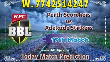 100% Sure Today Match Prediction PRS vs ADS BBL T20 Win Tips