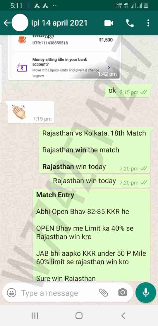 Today Match Prediction Bangalore vs Chennai 19th Match Who Will Win IPL T20 100% Sure? CSK vs RCB Vivo Indian Premier League Predictions