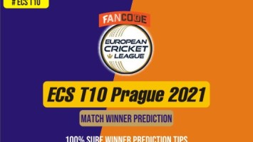 100% Sure Cricket Match Prediction tips - ECS T10 Prague 2021