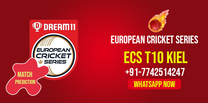 ECS T10 Kiel T10 European Cricket Series, Match 16th: SGH vs MTSV Dream11 Prediction, Fantasy Cricket Tips, Playing 11, Pitch Report, and Session Fency Update