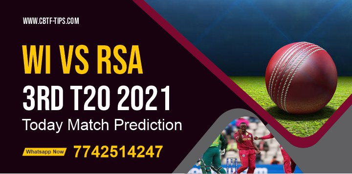 WI vs SA Dream11 Team Prediction, Fantasy Cricket Tips & Playing 11 Updates for Today's South Africa tour of West Indies T20 2021 - 29 Jun 2021, 11:30 PM