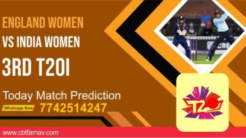 INDW vs ENGW Dream11 Team Prediction, Fantasy Cricket Tips & Playing 11 Updates for Today's India Women tour of England Womens T20 2021 - July 14, 2021 at 7:00 PM