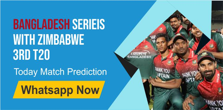 Bangladesh Series With Zimbabwe T20, Match 3rd: Bangladesh vs Zimbabwe Dream11 Prediction, Fantasy Cricket Tips, Playing 11, Pitch Report, and Toss Session Fency Update