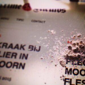 Kleine hoeveelheid cocaïne © crime nieuws