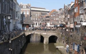 De Vismarkt in Utrecht.