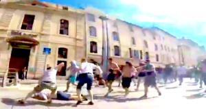 rellen marseille go pro, rellen russische hooligans go pro, rellen hooligans ek, ek rellen video