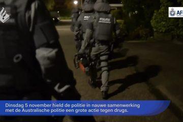 VIDEO: Beelden vrijgegeven van invallen in onderzoek oprollen MDMA drugslijn naar Australië