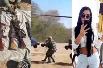 VIDEO: Beruchte sicaria 'La Catrina' die aan hoofd stond moordcommando geliquideerd