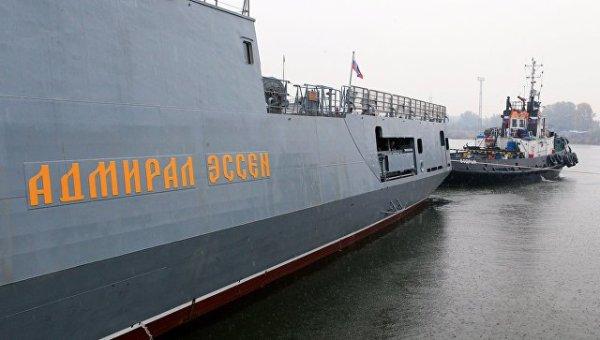 """Новый фрегат ЧФ """"Адмирал Эссен"""" прибыл в Севастополь - РИА ..."""