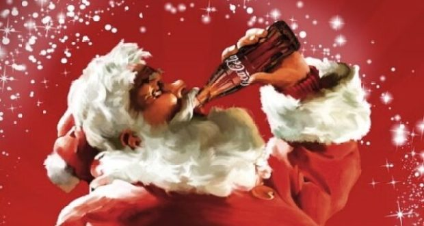 Санта клаус с Кокой