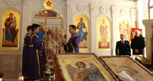 Храм Святого Архистратига Михаила в Севастополе освятили вновь