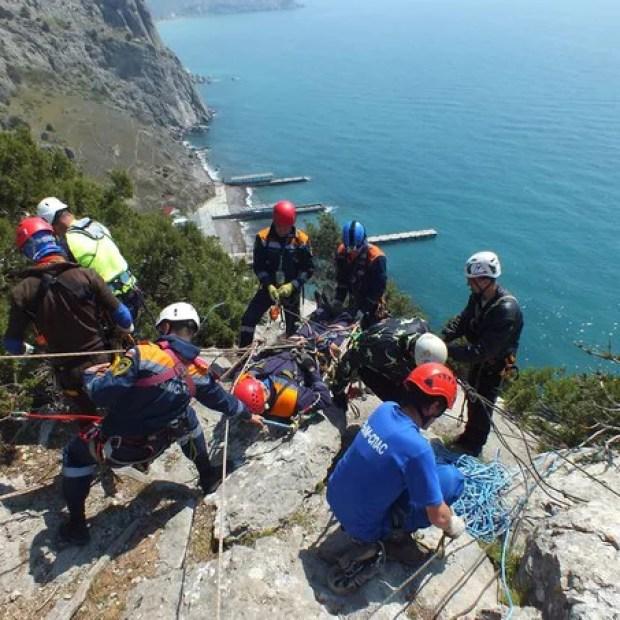Крым-Спас. Тренировка в горах