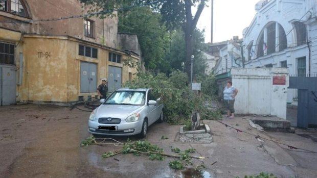Непогода. Севастополь 27.06.2016