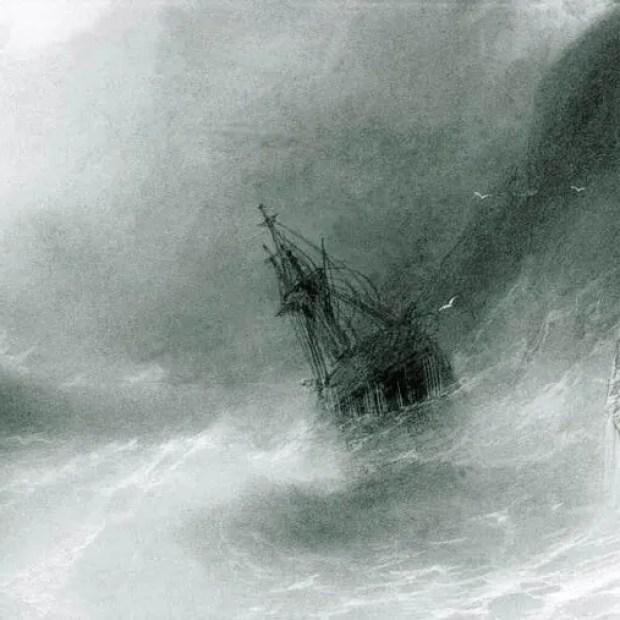 И.К.Айвазовский «Кораблекрушение»