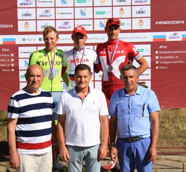Чемпионат России по велоспорту в Севастополе: первые призёры