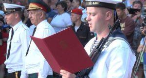Новобранцы Черноморского флота