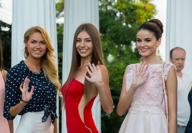 Финалистки конкурса красоты «Жемчужина Черного моря»