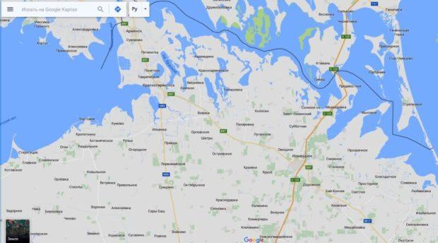 карта от гугл