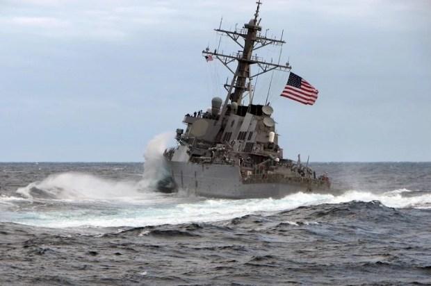 Эсминец ВМС США USS «Carney»