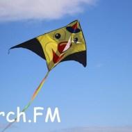 В воскресенье в Керчи запускали воздушных змеев