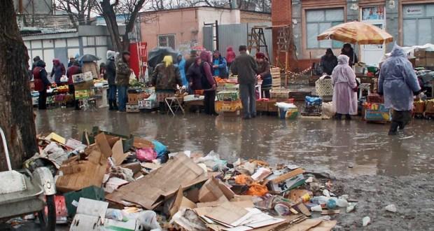 В Крыму стало меньше «стихийных торговцев»