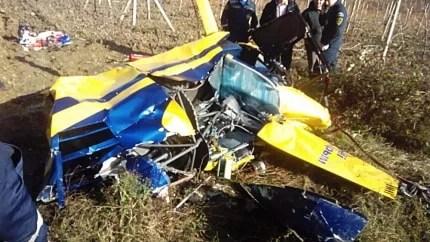 В Крыму под Алуштой рухнул вертолёт