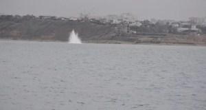 В севастопольской бухте обезвредили морскую якорную мину