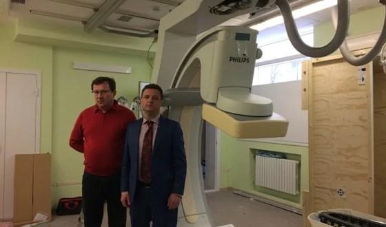 В больнице им. Н.А.Семашко в Симферополе устанавливают ангиограф