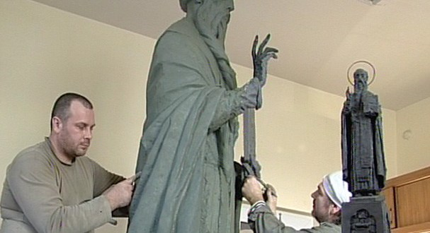 В Екатеринбурге для Судака изготавливают памятник святому Стефану Сурожскому