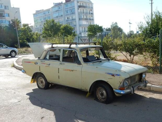 Очередной поджог авто в Севастополе