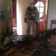 В Керчи горела квартира: спасены два человека, десять — эвакуированы
