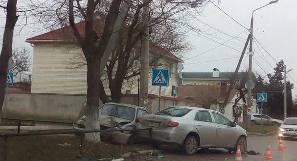 ДТП в Крыму: 17 января
