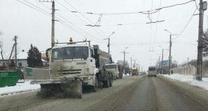 В Правительстве Севастополя заявляют, что с зимними капризами справляются