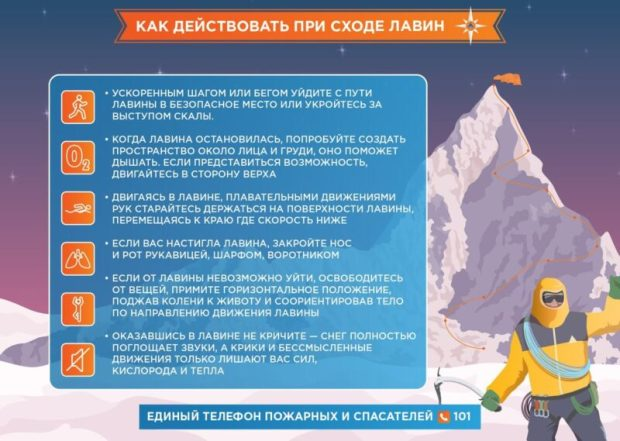 Дорогу на плато Ай-Петри накрыли две лавины