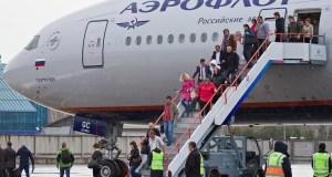 Почти 189 тысяч пассажиров перевёз Международный аэропорт Симферополя в январе