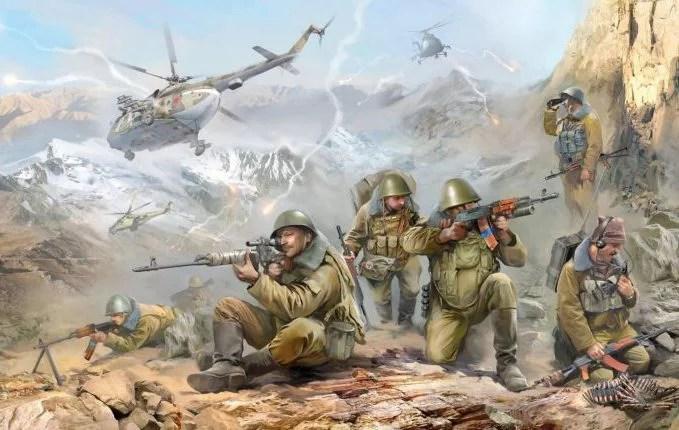 Военный полигон под Симферополем стал афганским ущельем