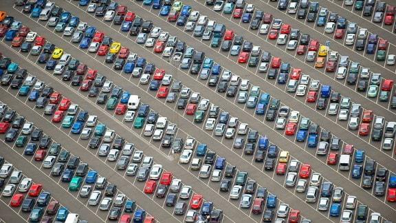 Парковки на въездах в Симферополь должны решить проблему автопробок